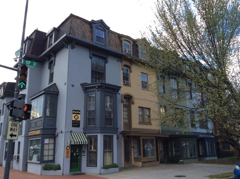 Frederick Douglass' row houses at 2000–2008 17th Street, Washington