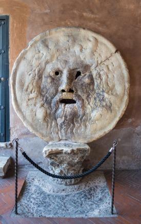 Mouth of Truth, Rome, Italy, by Serghei Topor, CC0 Public Domain via Pixabay