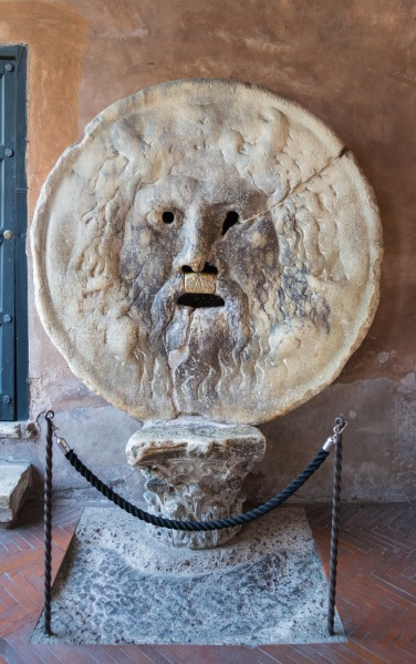 Mouth of Truth, Rome, Italy, by Serghei Topor, CC0 Public Domain