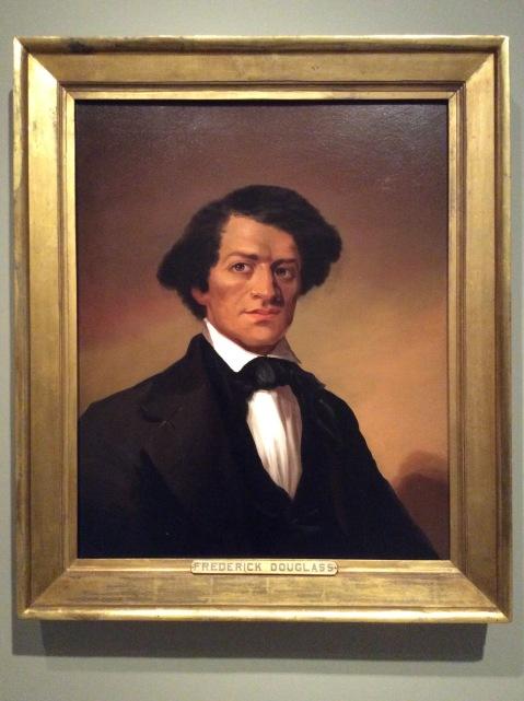 Portrait of Frederick Douglass by unknown artist, 1844, National Portrait Gallery in WashingtonD.C.,