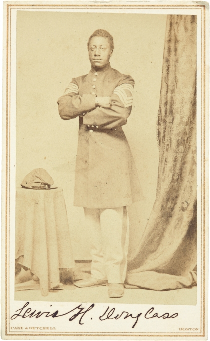 Sergeant Major Lewis Douglass, public domain courtesy of the National Gallery of Art website