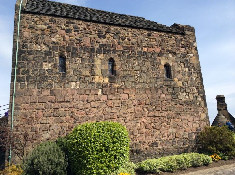 St Margaret's Chapel, Edinburgh Castle, 2014 by Amy Cools