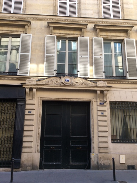 Former site of the Hotel d'Orleans at 17 rue Bonaparte, Paris