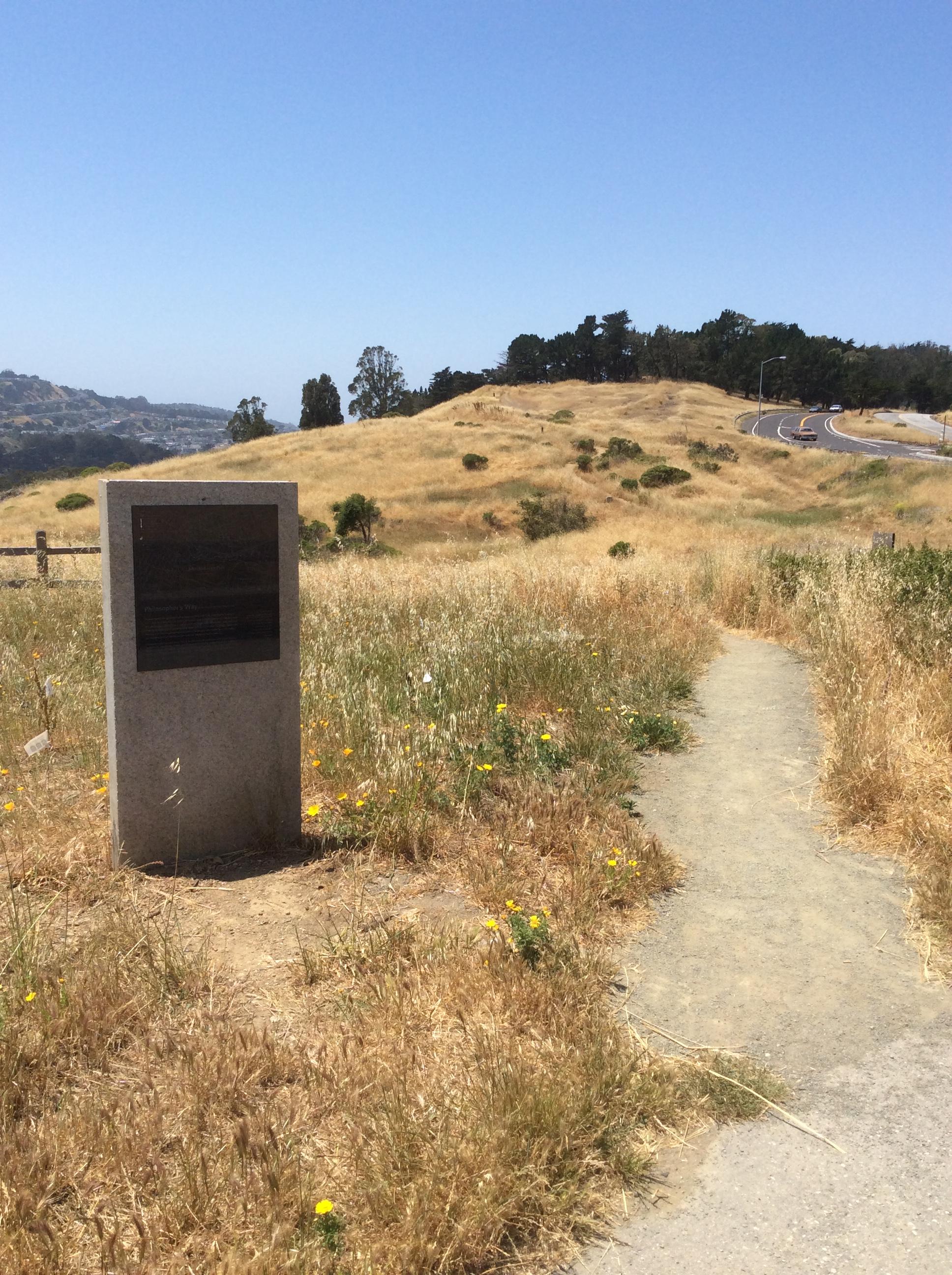 Philosopheru0027s Walk Entry Path, John McLaren Park, San Francisco
