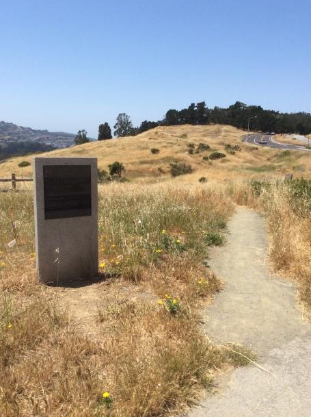 Philosopher's Walk entry path, John McLaren Park, San Francisco