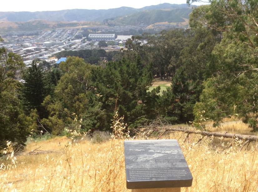 San Bruno overlook from Philosopher's Way