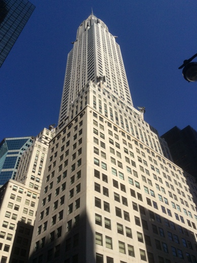 The Chrysler Building at Lexington and 42nd in Manhattan, NYC