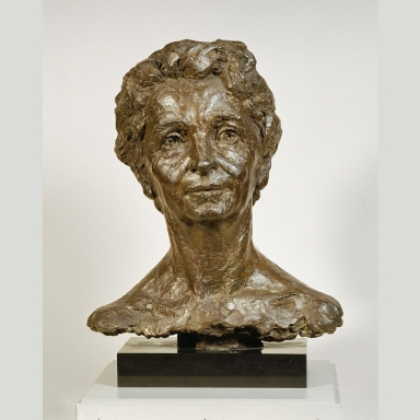 Margaret Sanger Portrait Bust, image credit National Portrait Gallery, Smithsonian, Washington DC