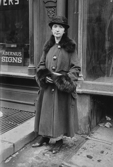Margaret Sanger, photo probably taken Jan 30th 1917, photo courtesy of the Library of Congress