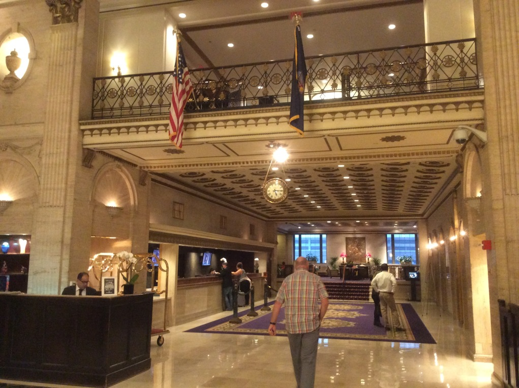 Roosevelt Hotel Lobby view