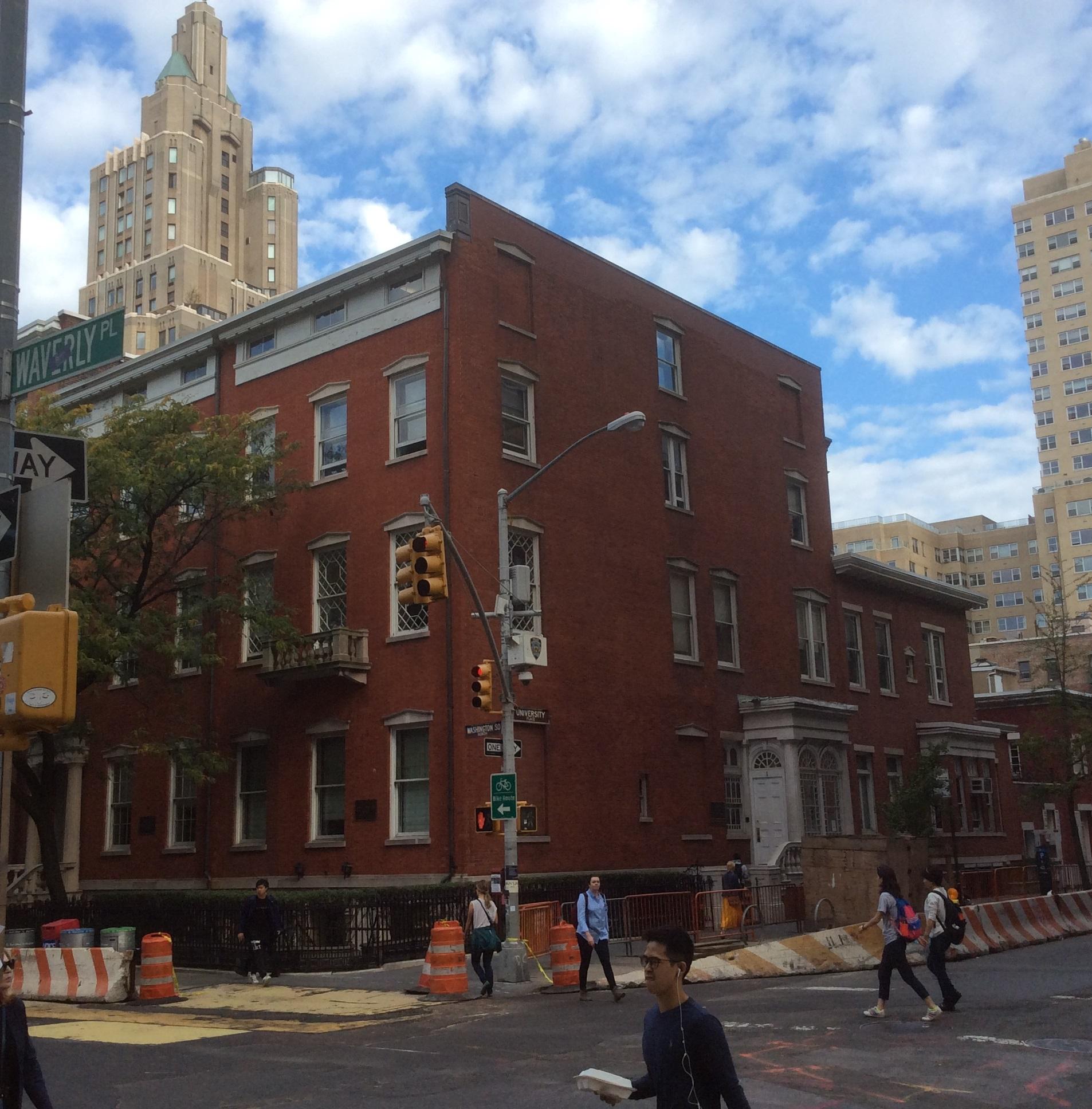 Waverly Pl and University at Washington Square, Manhattan, NY
