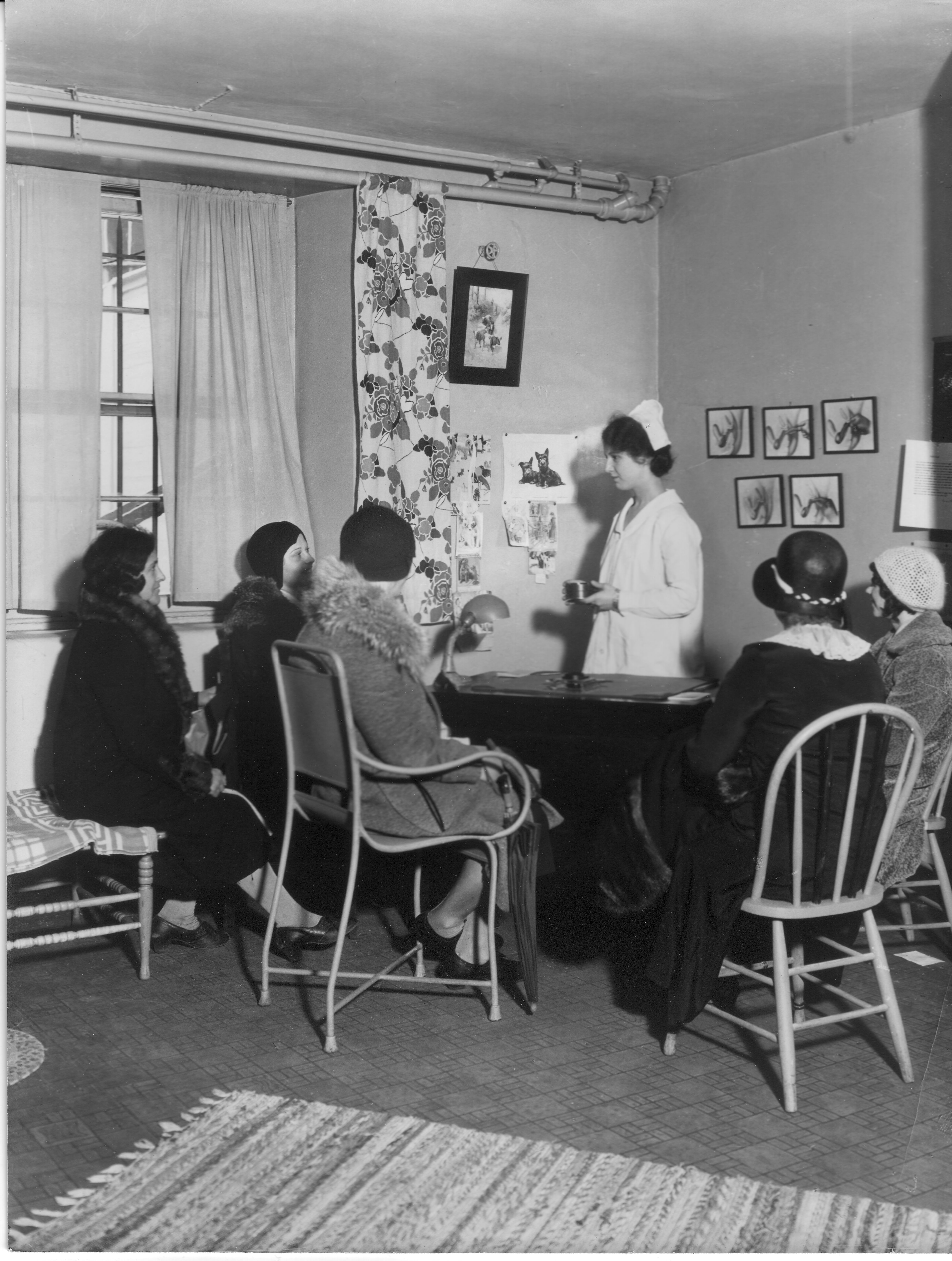 Birth Control Clinical Research Bureau in New York, photo via the Margaret Sanger Papers, no known restrictions on use