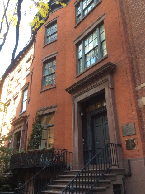 Margaret Sanger Clinic House at 17 W 16th St, New York City, photo 2016 Amy Cools