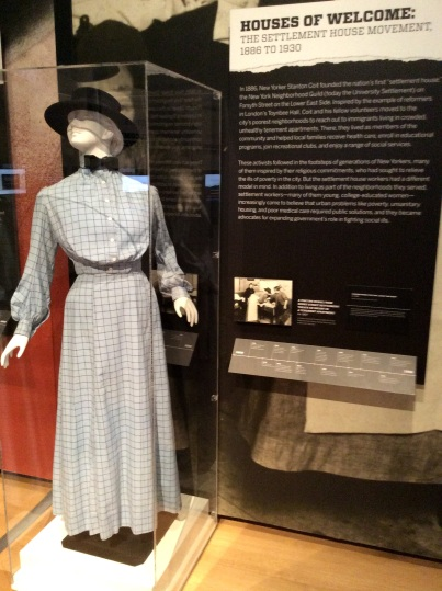 Nurse's uniform, ca. 1905, of Lilian Wald visiting service to the Lower East Side tenements of NYC
