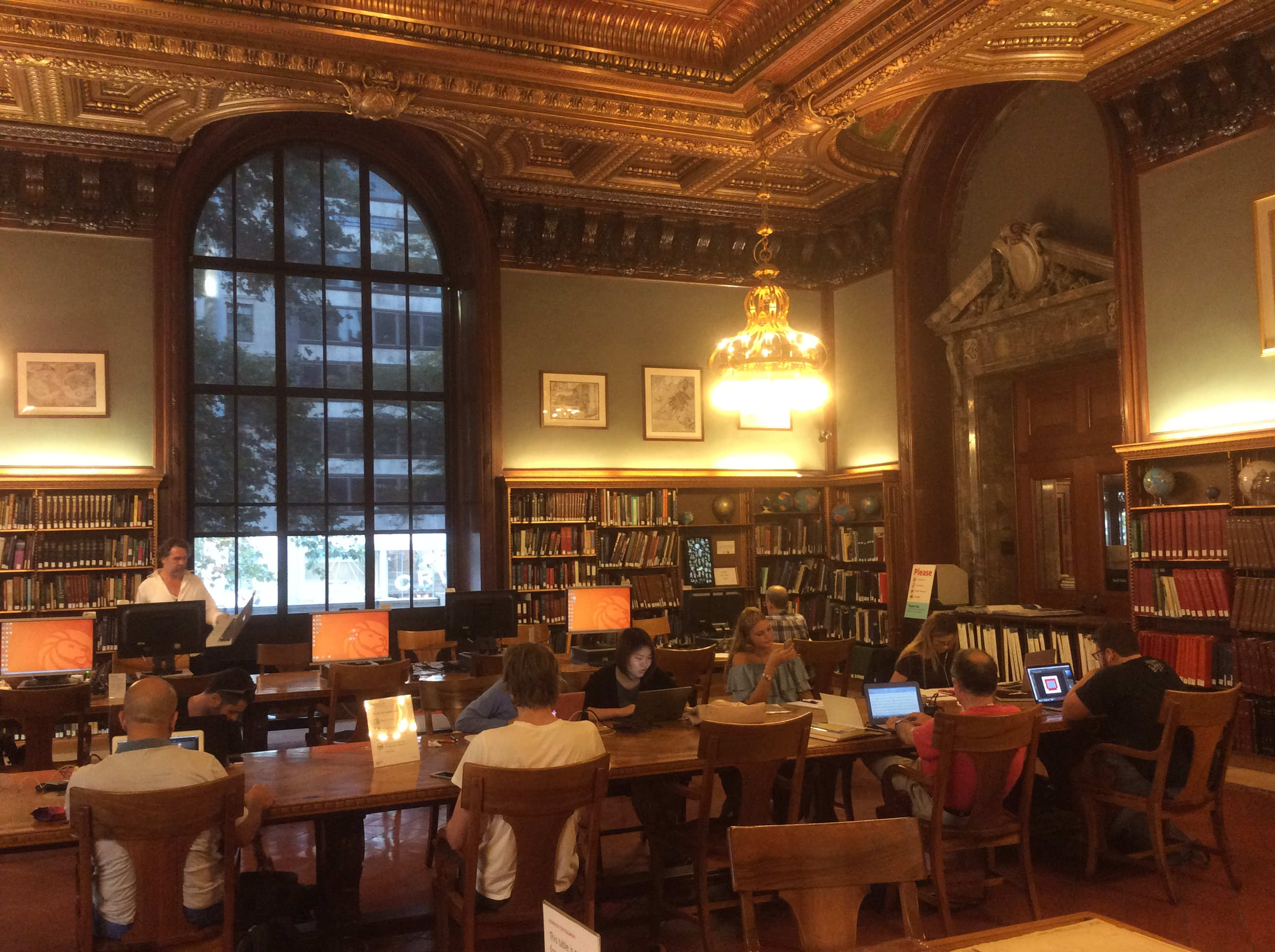 Pincus and Princess Firyal Map Division, Room 117 of the New York Public Library, 2016 Amy Cools