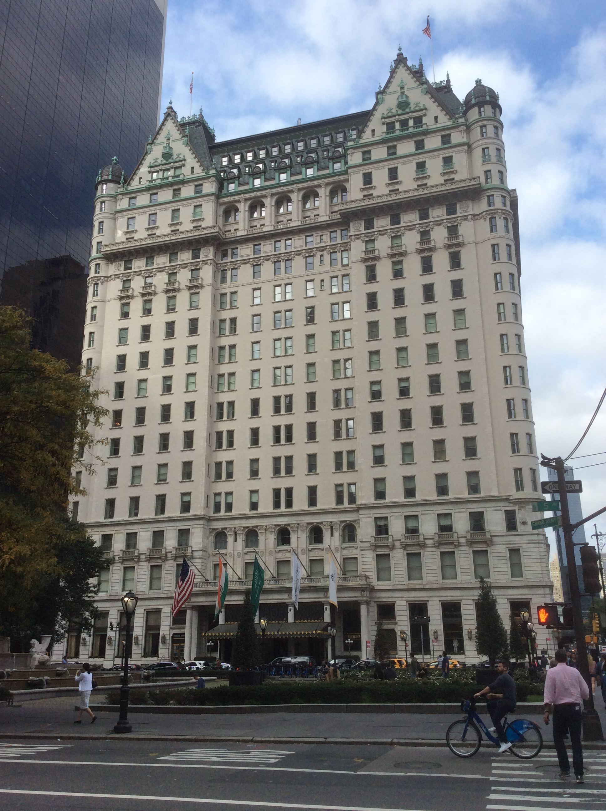 The Plaza Hotel, Manhattan, New York City, photo 2016 by Amy Cools