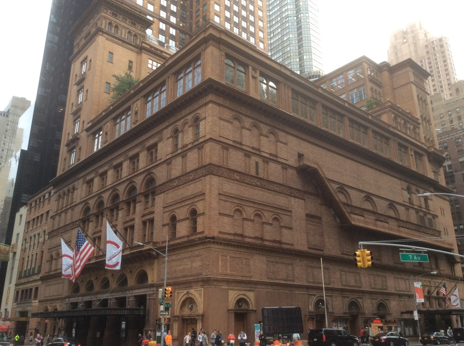 Carnegie Hall, Manhattan, New York City