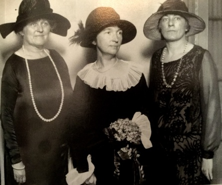Margaret Sanger, Dorothy Bocker, and Anne Kennedy