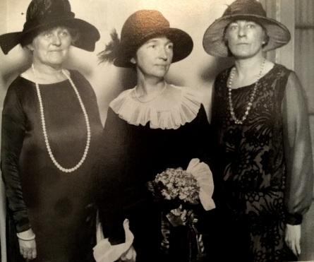 Margaret Sanger, Dorothy Bocker, and Anne Kennedy