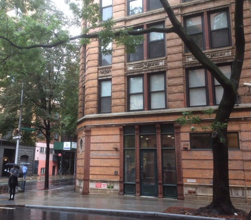 Planned Parenthood Clinic at Margaret Sanger Square, Mott and Bleeker Streets, NYC