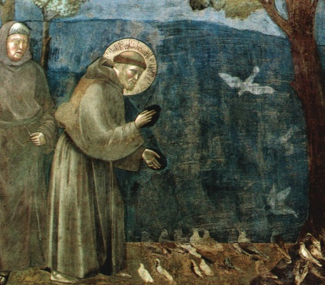 St Francis of Assisi by Giotto