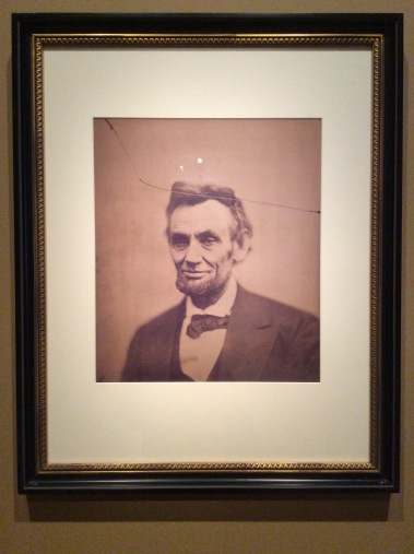 Abraham Lincoln by Alexander Gardner, Feb 5, 1865, National Portrait Gallery in D.C., 2016 Amy Cools