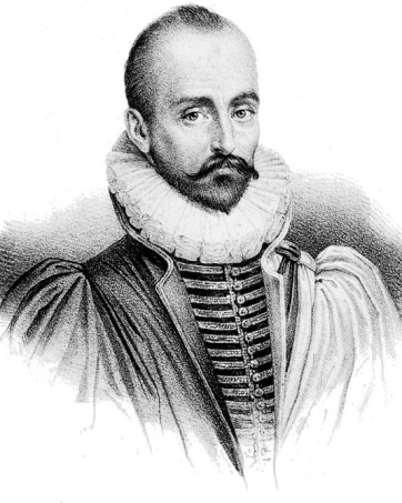 Michel de Montaigne, public domain via Wikimedia Commons