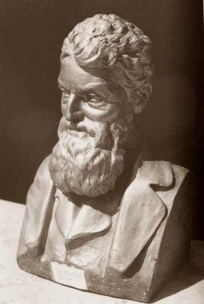 Sculpture of John Brown by Edmonia Lewis