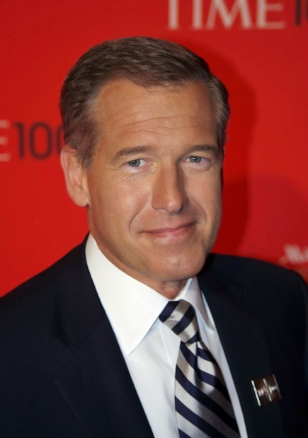 Brian Williams in 2011 by David Shankbone, free to use under Creative Commons license CC BY 3.0 via Wikimedia Commons