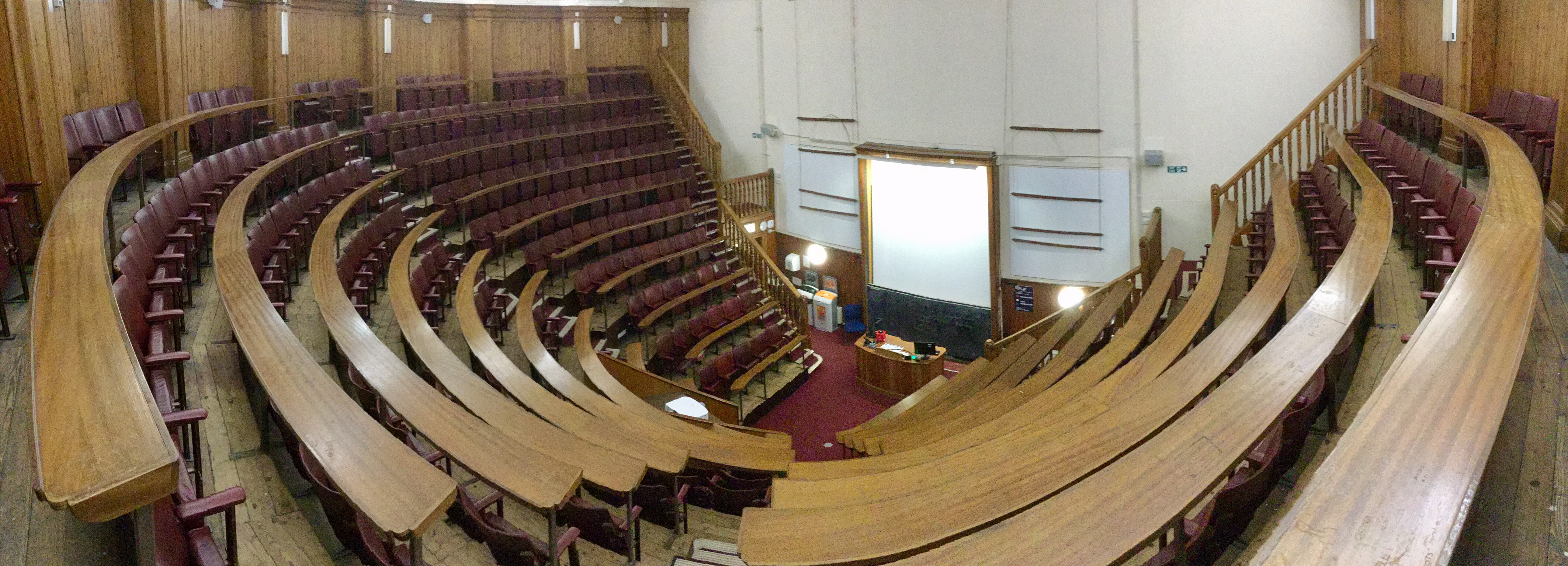 Anatomy Lecture Hall, Old Medical School, University of Edinburgh, 2018 Amy Cools